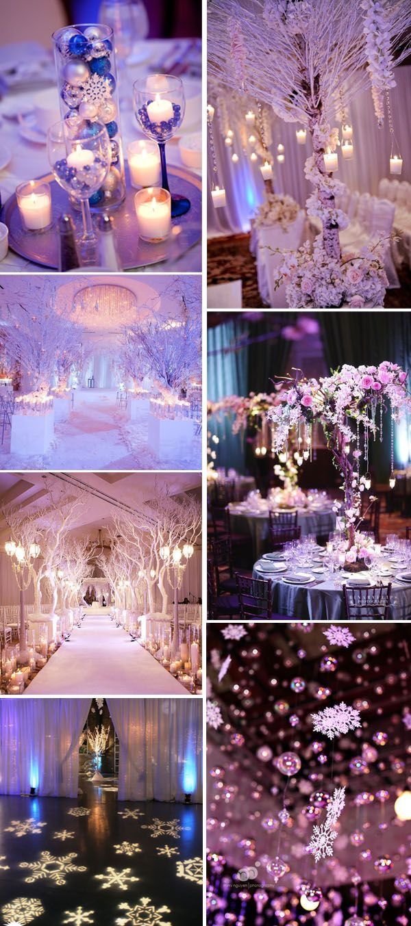 Planning For A Significant Wedding In Cold Seasons Then Try Magical And Romantic Winter Wonderland Theme As One Of The Most Popular