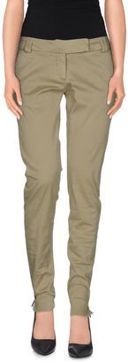 MICKEY P Casual pants - Shop for women's Pants - Military green Pants
