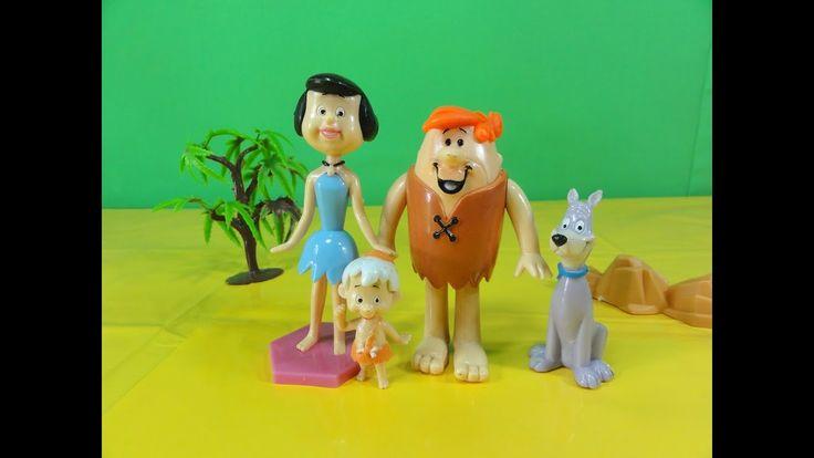 Os Flintstones: Barney Betty Bambam Idade da Pedra Jurassic Word Unboxin...