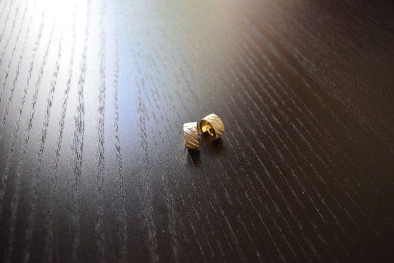 Modern Mens Gold Hoop Earrings Male Earrings Guys by SassyandCool