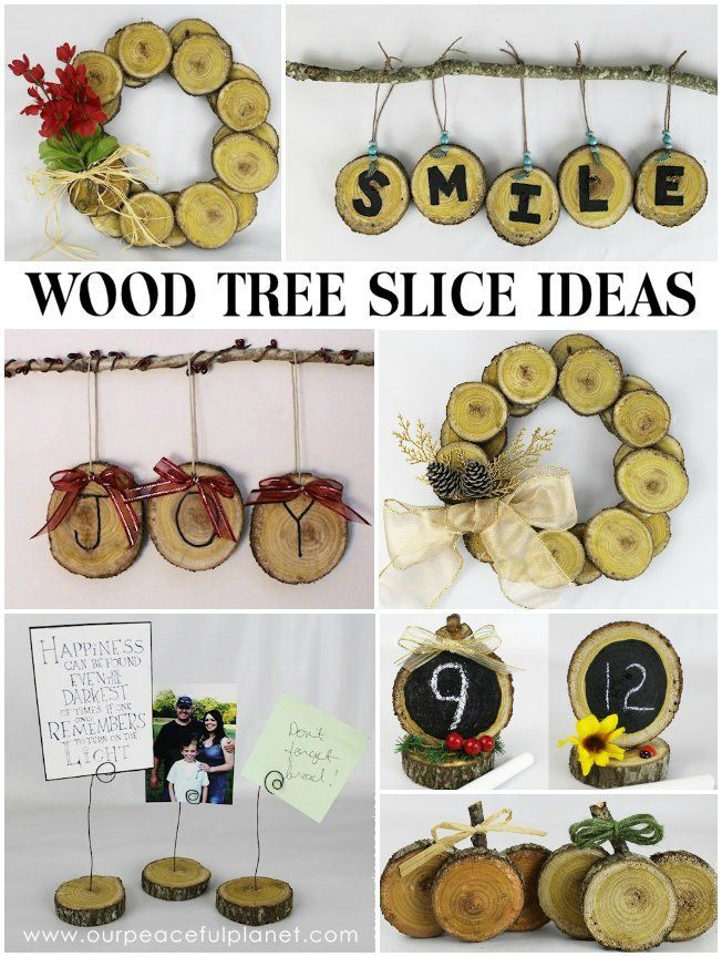Best 25 tree slices ideas on pinterest wood log crafts for Wood slice craft projects