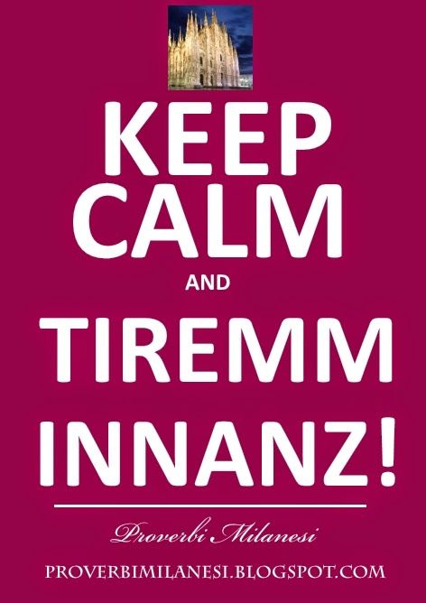 KEEP CALM AND TIREMM INNANZ!