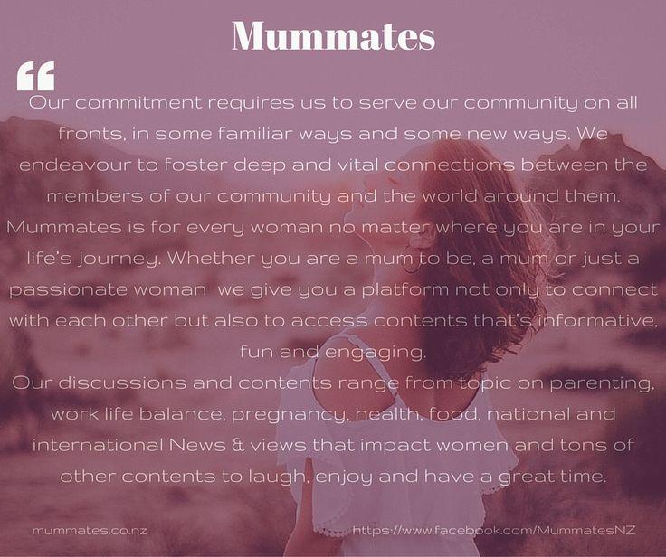 Mummates for all Kiwi woman....