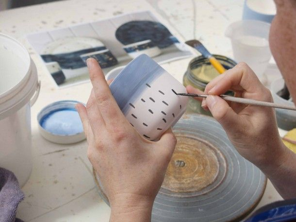 Evie Kemp for Studio Ceramics - a look behind the scenes in the Auckland, New Zealand Factory //Photography by Julia Atkinson for Studio Home