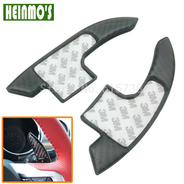 ==> [Free Shipping] Buy Best Carbon Fiber Steering Wheel Shift Paddles Gear kit for Ford Mustang 2015 2016 Car Styling Accessories Online with LOWEST Price | 32818842261