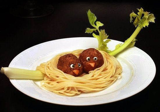 Creative food kids creative food pinterest birds for Creation cuisine