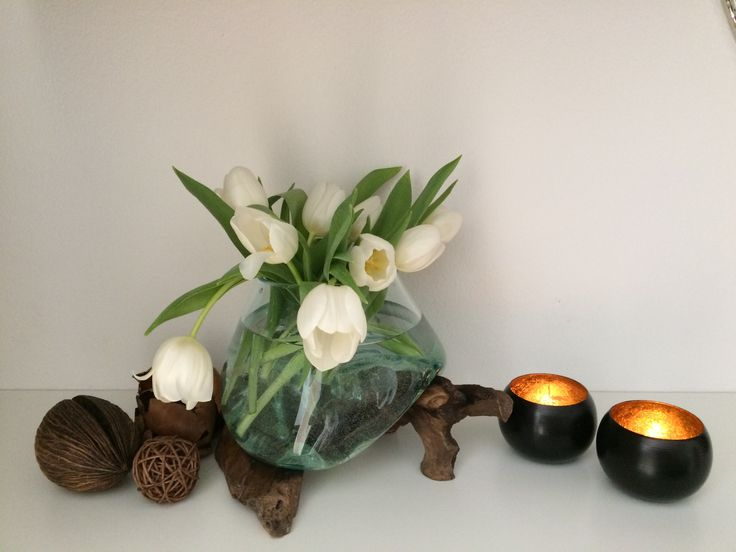 verkauf ber ebay bk trenddesign_de windlicht vase auf holz teak teakholz recyclingglas wurzel