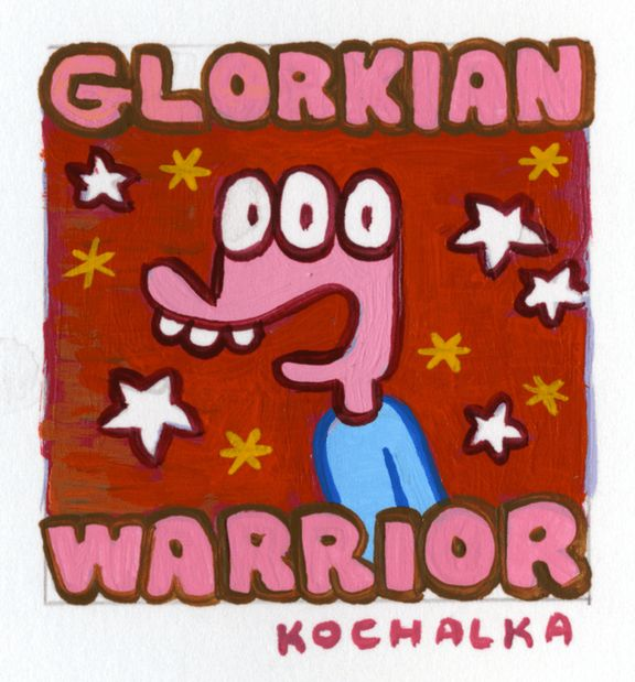 - Glorkian Warrior: The Trials of Glork, now on Steam (Mac/PC), iOS and Android -