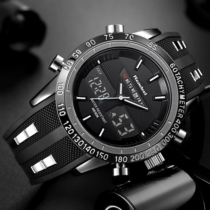 Luxury Brand Watches Men Sports Watches Waterproof LED Digital Quartz Men Military Wrist Watch Clock Male Relogio Masculino 2017 //Price: $25.98 & FREE Shipping //     #HALOWEEN
