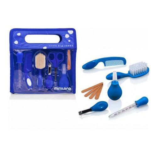 Kit higiénico. - Miniland Kit de casa y viaje para el cuidado del bebé.Es una solución compuesta por todos los útiles necesarios para el cuidado diario del bebé mas Info: http://www.petchibebe.com/shopping/products/56-Set-Higiene/37-Kit-higi%C3%A9nico---Miniland/