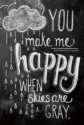 Greeting Card - Make Me Happy
