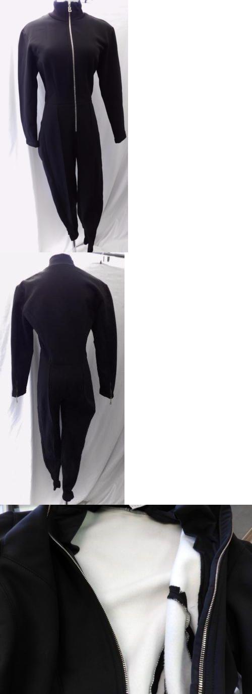 Snowsuits 62178: Bogner New Womens Ski Suit Base Layer Black Fleece Lined Sz 10 -> BUY IT NOW ONLY: $269 on eBay!
