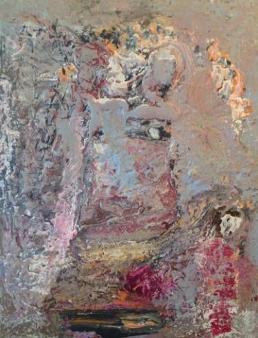 """Saatchi Art Artist Dan Caissie; Painting, """"Jen Is Going To Her Job"""" #art"""