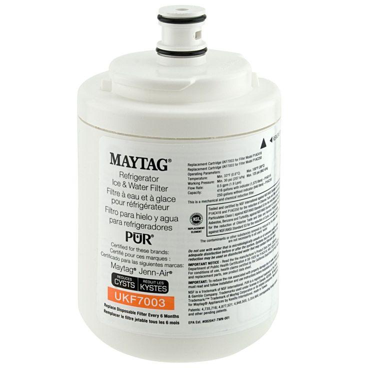 Genuine Maytag Ukf7003 Pur Puriclean Cyst-Reducing Refrigerator Water Filter