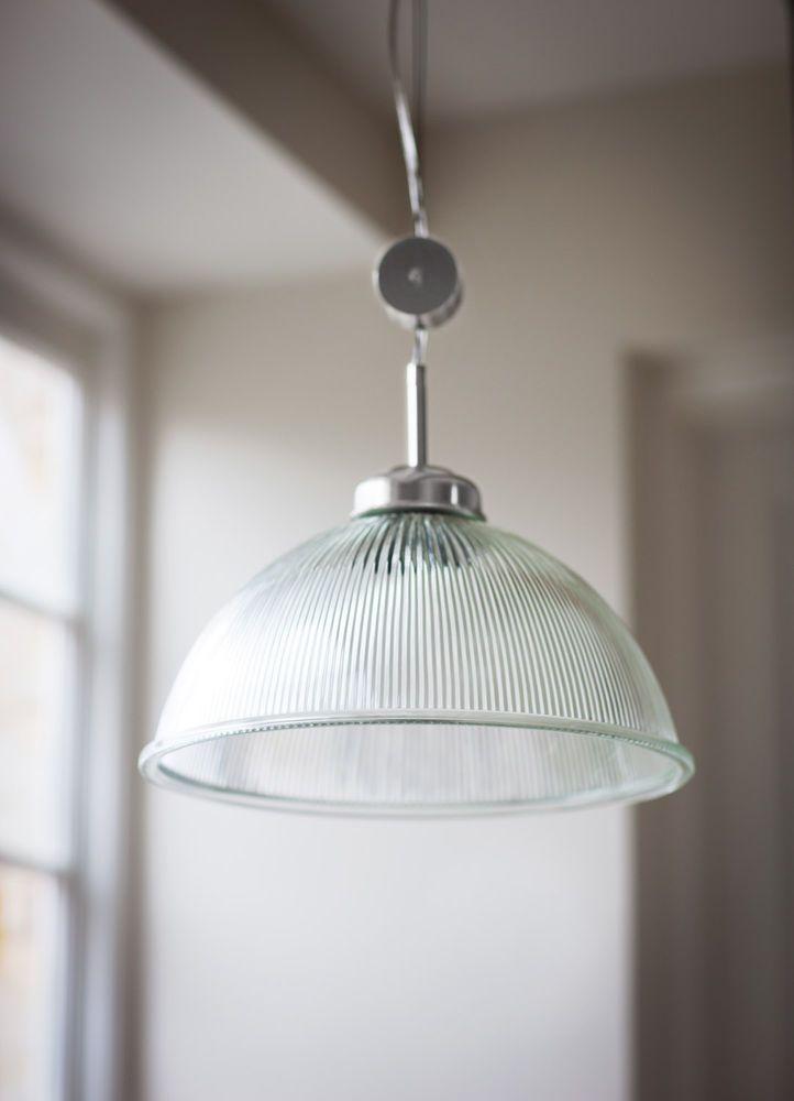 New Garden Trading Rise & Fall Grand Paris Adjustable Glass Ceiling Light