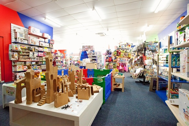 A glimpse of Entropy Elf HQ #toys #entropy #retailspace