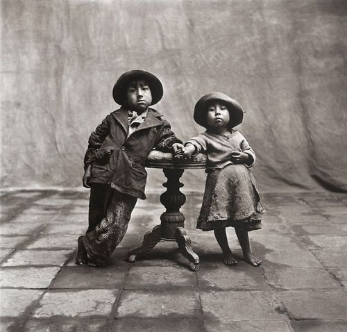 Cuzco Children, Peru, December 1948 | Irving Penn: Penn Cuzco, Peru, Children 1948, Art Photography, Photography Portraits, Irvingpenn, Penn Photography, Irving Penn, Cuzco Children