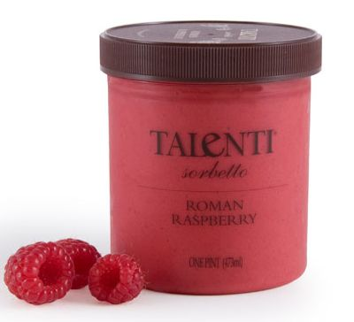 Talenti Roman Raspberry... Serious raspberry taste here! Pucker up. So tangy!