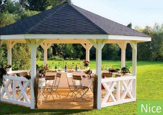 Las 25 mejores ideas sobre pavillon de jardin en for Pavillon jardin bois