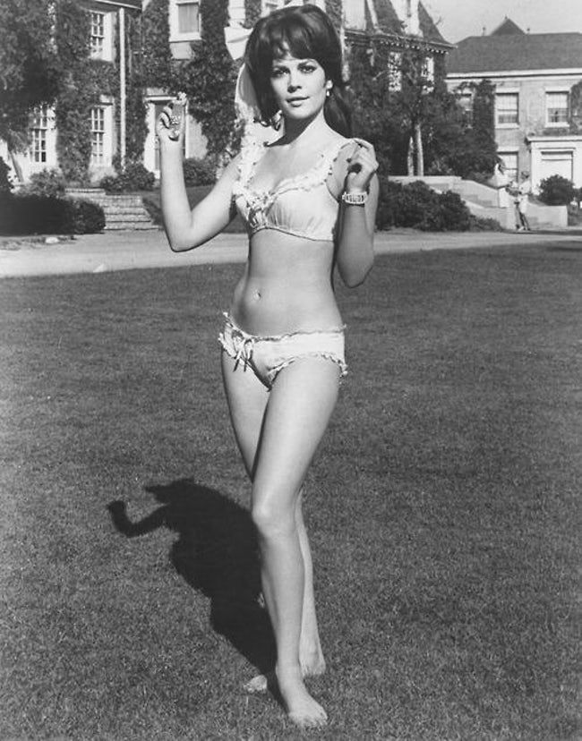Natalie Wood in Two-Piece Bath is listed (or ranked) 23 on the list The 26 Hottest Natalie Wood Photos