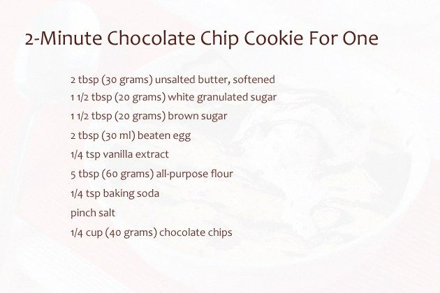 This is one of those 'I-need-a-cookie-right-now-or-I-die' recipes that can be prepared in almost no time. We all know that kind of situation, don't we? I definitely do, I confess. And you know what? This impressive cookie not only takes less than 5 minutes to prepare, it tastes really delicious. Just like a good chocolate chip ... Read more...