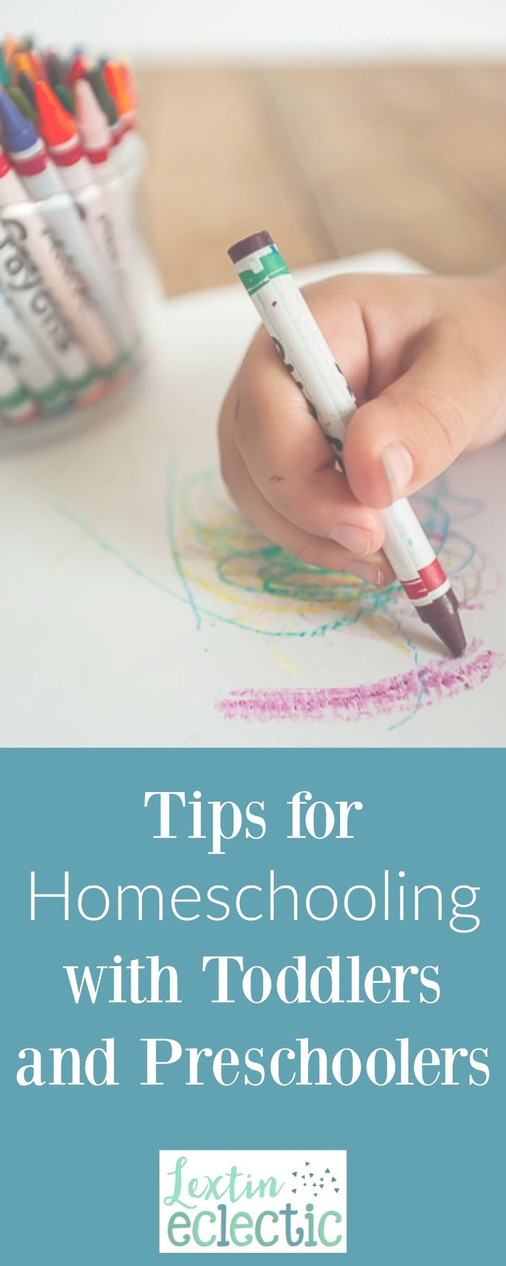 Tips for Homeschooling with Toddlers and Preschoolers
