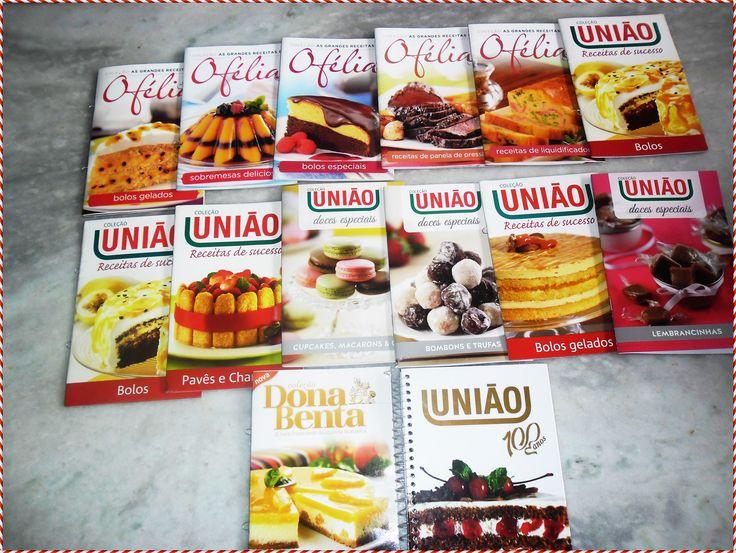 #MinhaColeção Livros de Culinária União,DonaBenta e Ofélia! #ByAvon CrisLú
