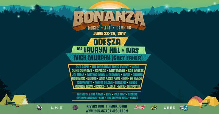 Help me win tickets for my #BonanzaSquad to Bonanza Campout 2017!