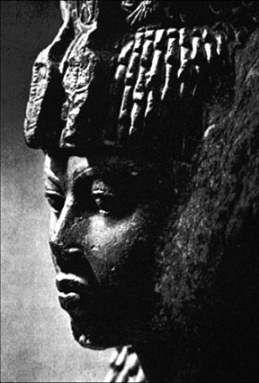Queen Tiye. Royal wife of Amenhotep III and the mother of Pharaoh Akhenaton. (18th Dynasty)