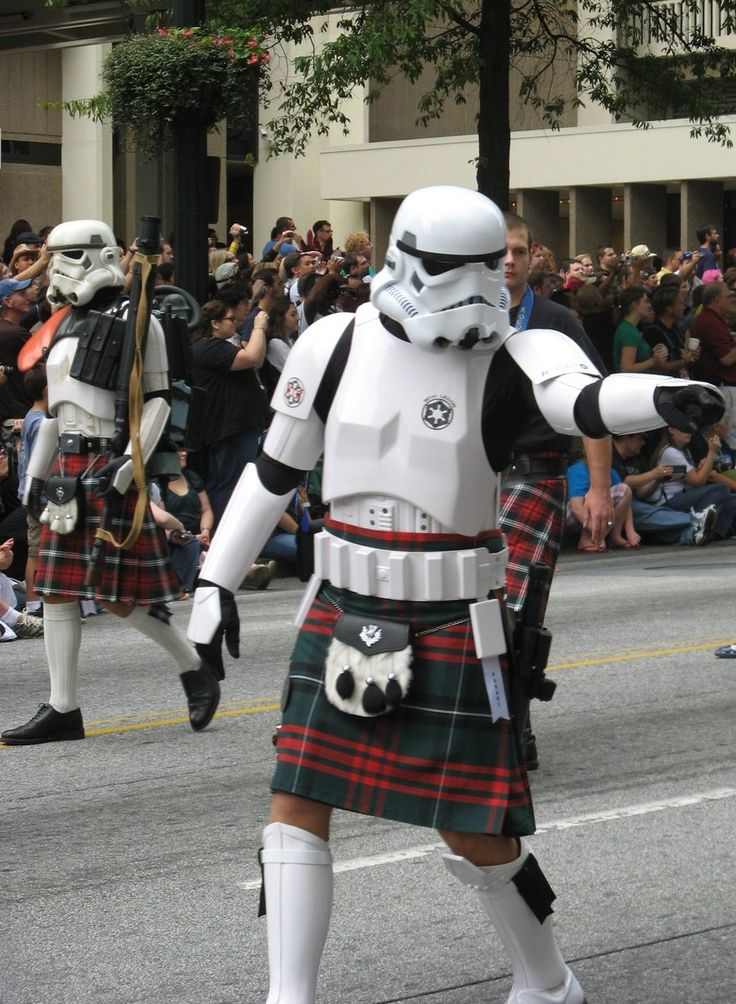 DC09 Kilted Trooper by ~xRealitySandwichx on deviantART: Kilts, Storm Troopers, Scottish Storm, Scottish Troopers, Star Wars, Funny, Stormtroopers, Things, Starwars