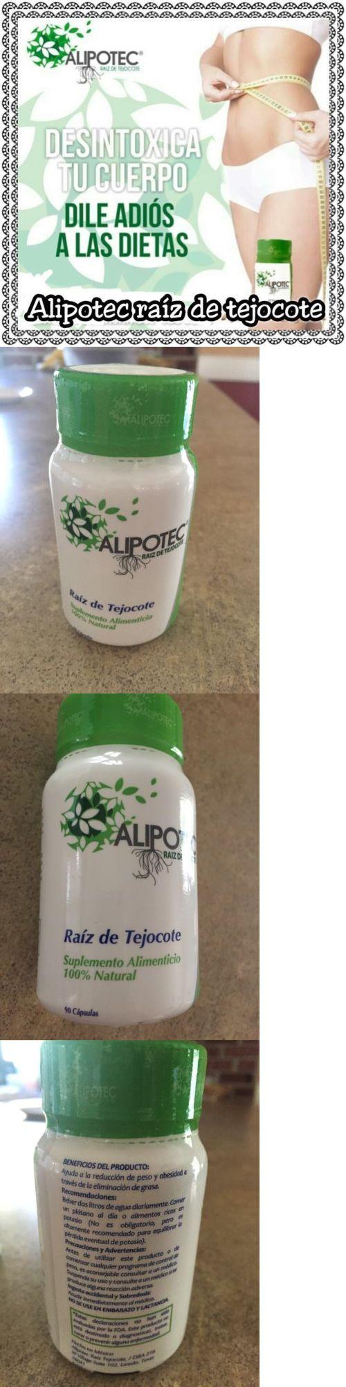 Other Weight Management: Original Alipotec Capsulas Raíz De Tejocote+Espirulina+Fibra (90U) Baje De Peso -> BUY IT NOW ONLY: $52.75 on eBay!