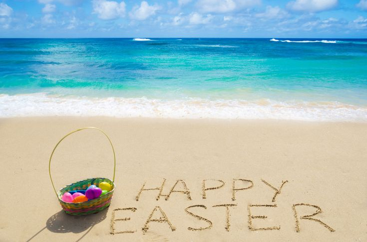 Easter at the beach