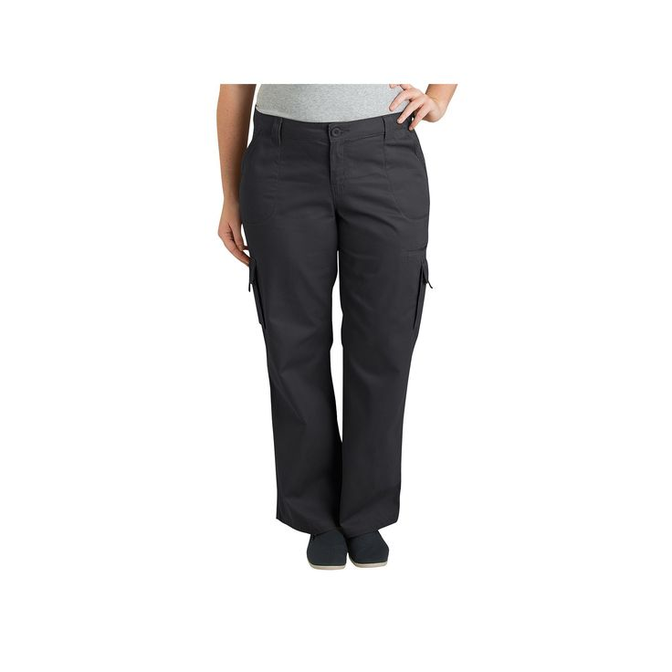 Plus Size Dickies Cargo Pants, Women's, Size: 22 W, Black