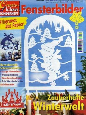 Creativ Idee - Fensterbilder Zauberhafte Winterwelt - Muscaria Amanita - Picasa Webalbumok