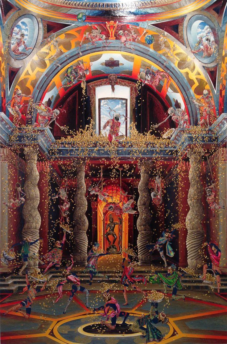Raqib Shaw - Painting 16