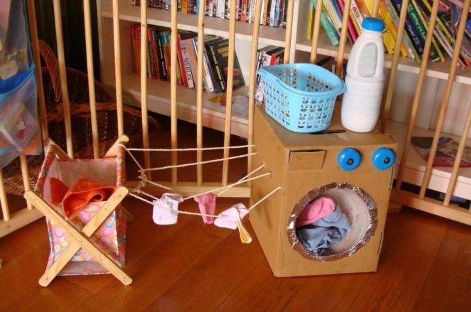Fabriquez une machine à laver pour les petits! | Trucs et Bricolages
