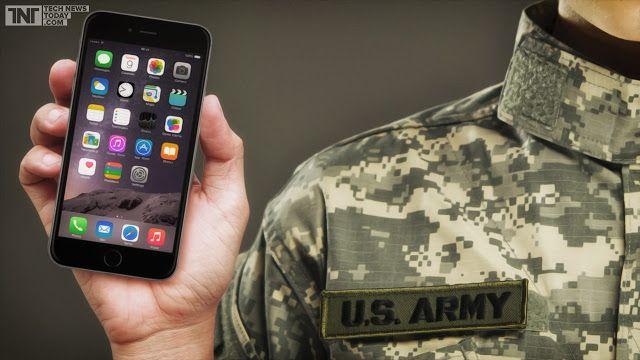 ABD Ordusu iPhone'a Geçiyor - Yazıyorum Yazdım