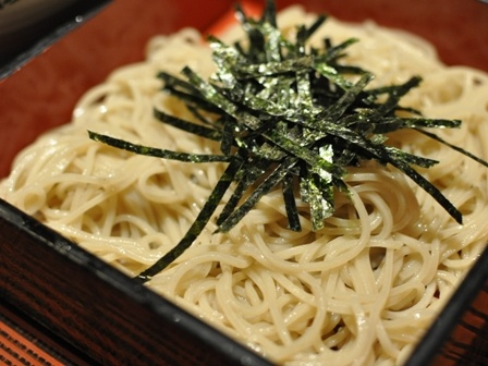"""This is Japanese noodle that is called """"Soba"""""""