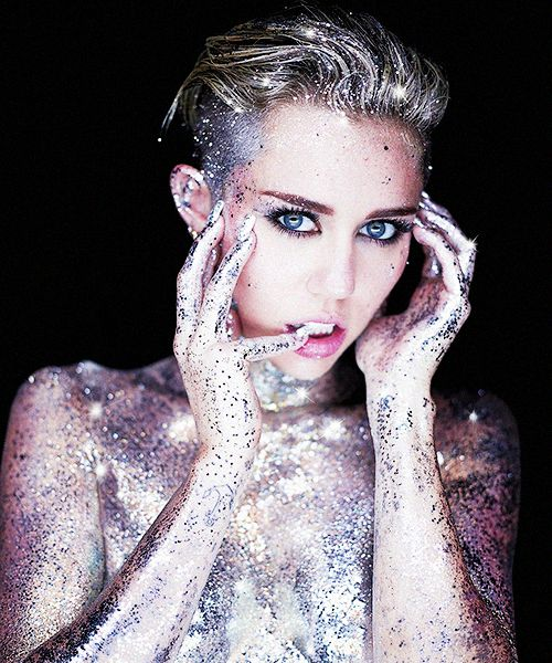 Miley Cyrus - Rankin Photoshoot For Real and True