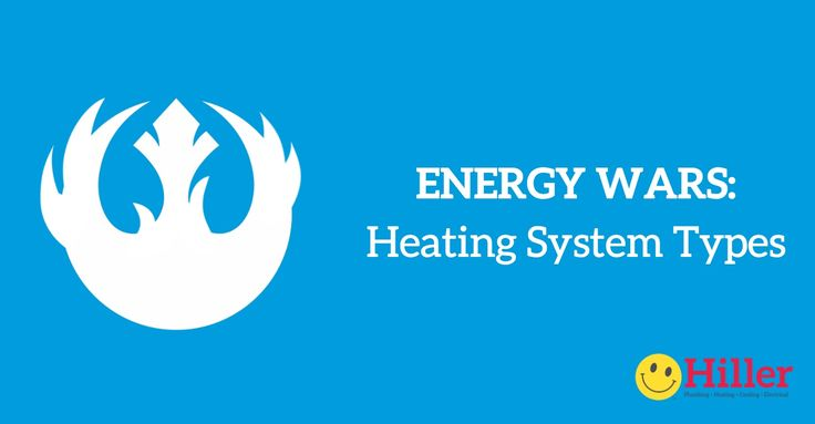 Energy Wars: Which Heating System is Best?  1. Natural Gas Furnace  2. Boilers 3. Electric Space Heaters 4. Wood Burning Stoves & Fireplaces 5. Heat Pumps and Ductless Mini-Splits Learn who wins the energy war so you can select the right heating system and fuel. #StarWars #EnergyWars #Heating