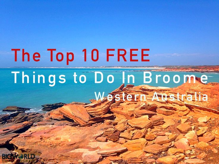 Having fallen madly in love with this remote town, and unable to drag ourselves away, we set about discovering the top 10 free things to do in Broome.