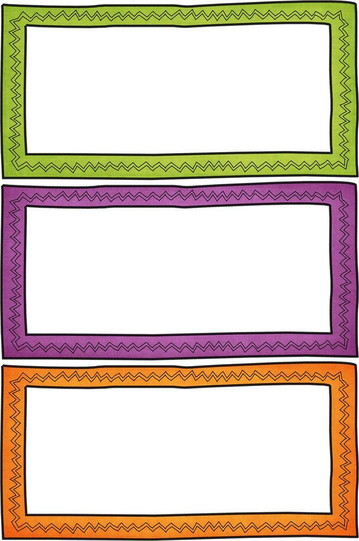 zigzag frames