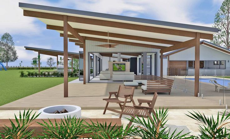 Vintage House Hunter Valley - New home concept in 3D designed by All Australian Architecture