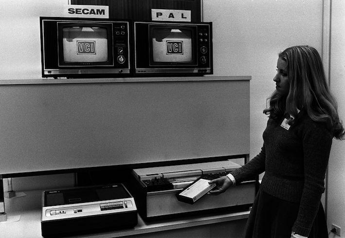 Adieu magnétoscope VHS !