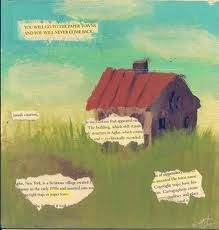 Ze verschuilt zich in Agloe, New York en daar leeft ze in een huisje in een veld.