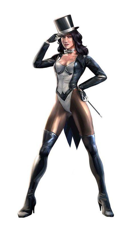 zatanna justice league heroes - photo #6
