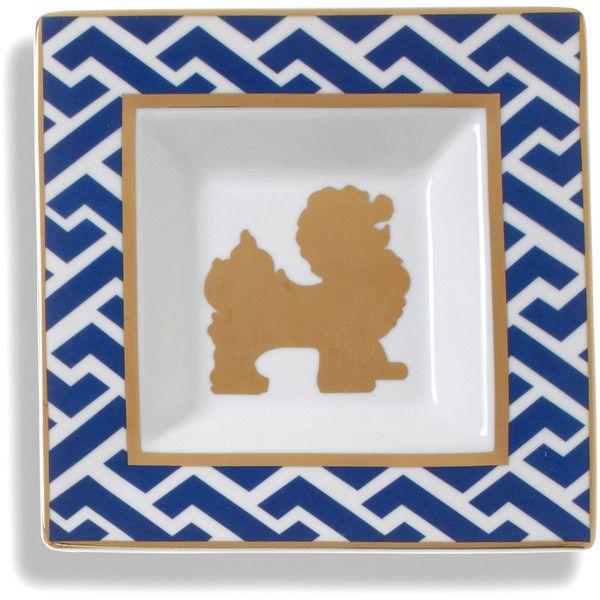 C. Wonder Foo Dog Ceramic Square Plate