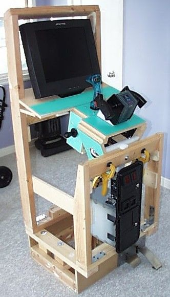 Diy Arcade Cabinet Plans Woodworking Projects Amp Plans