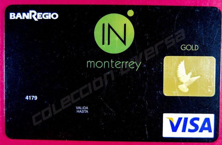 "Specimen Credit Card ""BANREGIO"" Visa Gold Monterrey Mexico"