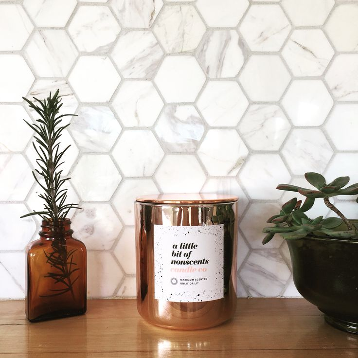 Rose Gold Copper Soy Candle